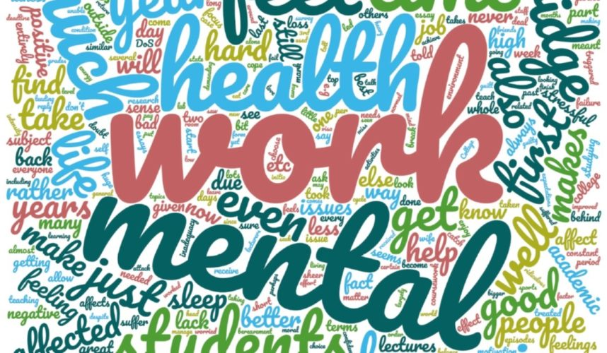 The BlueSci Mental Wellbeing Survey: Interview with Keir Murison